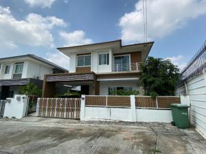 ขายบ้านระยอง : ขาย/เช่า หมู่บ้านเบญญาภาปลวกแดง บ้านเดี่ยวสองชั้น Type B หลังมุม ราคาถูกกว่าโครงการ 500,000 บาท/ให้เช่าเดือนละ 14,000 บาท