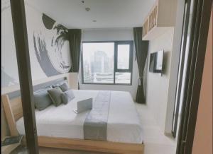 For RentCondoWitthayu,Ploenchit  ,Langsuan : For rent, Life One Wireless, Floor 38, size 35