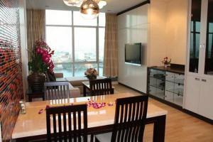 For RentCondoWongwianyai, Charoennakor : For rent >> ฺ Baan Sathorn Chaopraya, 2 bed 2 bath, 12 floor. River view.