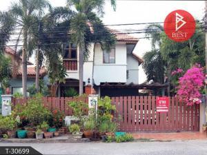 For SaleHousePattaya, Bangsaen, Chonburi : House for sale Family Land, Na Pa, Chonburi