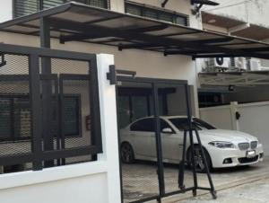 For RentHouseLadprao, Central Ladprao : House for rent, Home Office, 2 floors, Soi Ladprao 26, near MRT Lad Phrao 500 meters, good location, parking 4-5 cars, 7 air conditioners, whole renovation. Suitable as a company registered office