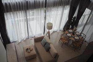 เช่าคอนโดสีลม ศาลาแดง บางรัก : Condo For Rent Loft Silom  2 bedroom