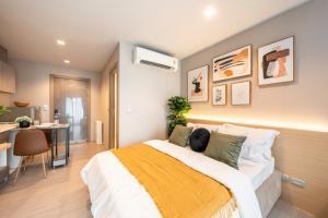 เช่าคอนโดพระราม 9 เพชรบุรีตัดใหม่ : Life Asoke-Rama9 ห้องใหม่ สวย น่าอยู่