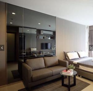 For RentCondoSukhumvit, Asoke, Thonglor : ✨Rhythm sukhumvit36-38✨ Studio room, size 24 sqm., Beautiful decoration, rent only 12000 baht / month only.