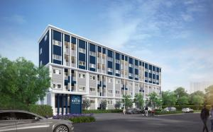 For RentCondoNakhon Pathom, Phutthamonthon, Salaya : Condo for rent, Sena Kitt Sai 7, room size 38 sqm.