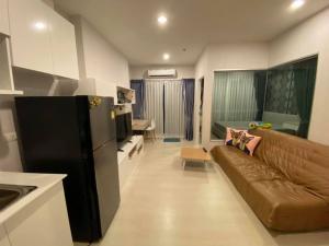 For RentCondoBang kae, Phetkasem : Prodigy Condo for rent, MRT Bang Khae, Phetkasem 62🚆, size 35 sq m, 1 bedroom, 1 hall, 1 kitchen, 1 bathroom, 1 separate perfectly.
