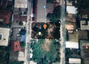 For SaleLandYothinpattana,CDC : Land for sale 230 square wa (filled) Ladprao 83, Ladprao Rd., Pradit Manutham Rd.