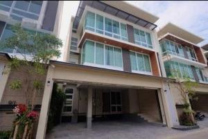 For RentHouseRama 8, Samsen, Ratchawat : Code C4030 3 storey detached house for rent and sale Inthamara Phaholyothin near BTS Saphan Khwai