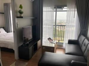 For RentCondoSamrong, Samut Prakan : Condo for rent, Notting Hill, Sukhumvit, Praksa, 22nd floor, there is a washing machine for rent, 6,000 baht.