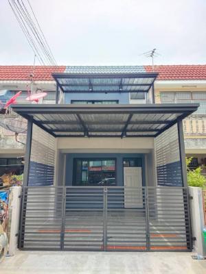 For SaleTownhouseBangbuathong, Sainoi : 🔰 Townhouse for sale, Phra Pin Village 3, Bang Mae Nang, next to Kanchanaphisek Road.