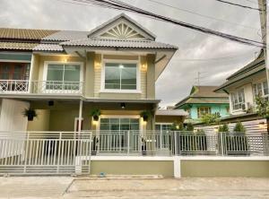 For SaleTownhouseBangbuathong, Sainoi : Urgent sale Pruksa 14A (Wat Lat Pla Duk road) price 2,790,000 baht