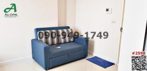 For RentCondoOnnut, Udomsuk : Condo for rent The Sky Sukhumvit, beautiful room, pool view, near BTS Udom Suk Station