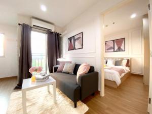 For SaleCondoBangna, Lasalle, Bearing : Urgent sale, newly renovated room, Lumpini Mega City Condo, Bangna