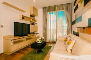 For RentCondoSukhumvit, Asoke, Thonglor : For Rent Keyne By Sansiri  1Bed , size 52 sq.m., Beautiful room, fully furnished.