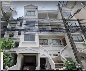 For RentShophouseOnnut, Udomsuk : RPJ171 4-storey commercial building for rent, Soi Pridi 14, Sukhumvit 71, near BTS Phra Khanong.