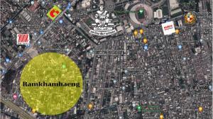 For SaleLandRamkhamhaeng, Hua Mak : Land for sale Ramkhamhaeng wah 180,000 baht per wah (last plot)