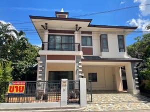 For SaleHouseBang Sue, Wong Sawang : Selling at a very good price, 2-storey detached house, Setthasiri Prachachuen Residence 1, beautiful house, corner area, lots of usable space