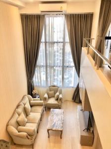 เช่าคอนโดสาทร นราธิวาส : For Rent KnightsBridge Prime Sathorn Duplex 1 Bed 45.22 Sq.m @JST Property.