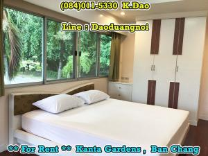 For RentHouseRayong : Kanta Gardens, Ban Chang *** For Rent *** 3 Bathrooms with En-suite Bathroom