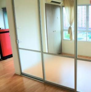 For SaleCondoRamkhamhaeng Nida, Seri Thai : Condo for sale Lumpini Ville Ramkhamhaeng 60/2 Building B 9th floor with electrical appliances (S2063)
