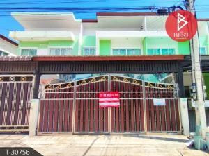 For SaleTownhouseMahachai Samut Sakhon : Townhouse for sale The Money Phanthuwong Village, Samut Sakhon