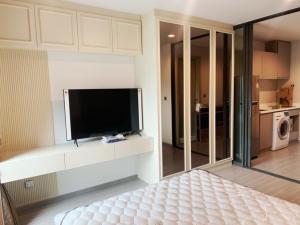 For RentCondoLadprao, Central Ladprao : ให้เช่าคอนโด Life Ladprao ติดบันได BTS ห้าแยกลาดพร้าว ตึก B ชั้น 16 ห้องสตูดิโอ ขนาด 28.5 ตารางเมตรราคา 15,000 บาท/เดือน