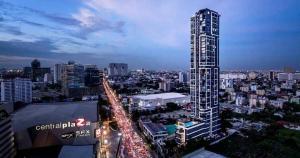 เช่าคอนโดลาดพร้าว เซ็นทรัลลาดพร้าว : For Rent M Ladprao ใกล้ห้าง Central Ladprao @JST Property.