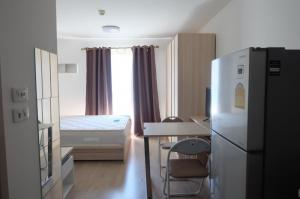 For RentCondoOnnut, Udomsuk : 🔥🔥Hot Deal! 🔥🔥 For rent Elio Del Ray Sukhumvit 64, 24 sqm. 4th floor, Studio Room, BTS Udomsuk [Code: A124]