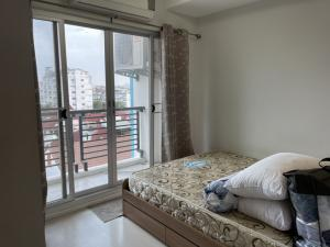 For RentCondoOnnut, Udomsuk : SR9-K9 for rent, ready to move in, The log 3, Sukhumvit 101/1, very good price, fully furnished!
