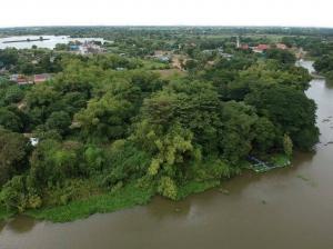ขายที่ดินพระนครศรีอยุธยา : ขายที่ดินริมแม่น้ำลพบุรี ป่าสัก 10-2-97.8 ไร่ ต.สวนพริก อ.พระนครศรีอยุธยา จ.พระนครศรีอยุธยา