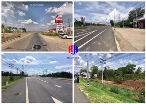 For SaleLandSa Kaeo : Land for sale 1.5,8,27 rai next to Bypass-Bypass Road, Aranyaprathet District, Sa Kaeo, Special Economic Zone, on 2 sides of the road, has 3 plots.