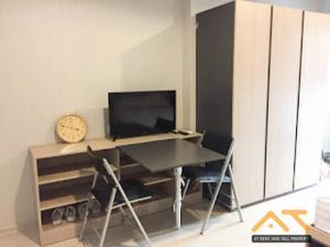 For SaleCondoSamrong, Samut Prakan : For Sale  Ideo Sukhumvit 115  Studio , size 28 sq.m., Beautiful room, fully furnished.