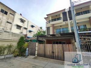 For SaleTownhouseRattanathibet, Sanambinna : Townhome 3 floors, 46 square meters, behind the corner of Sethi Villa Sanambinnam