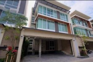 For RentHouseSapankwai,Jatujak : HR726 3-storey detached house for rent and sale, Inthamara, Phaholyothin, near BTS Saphan Khwai.