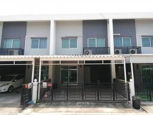 For RentTownhouseRama 2, Bang Khun Thian : Habitown nest village at Tha Kham> Beautiful house, new furniture, only 13,000 / month!