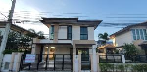For SaleHousePattaya, Bangsaen, Chonburi : For Sale - House 52 sq m, garden plan, Baan Fah Greenery Village, North Pattaya