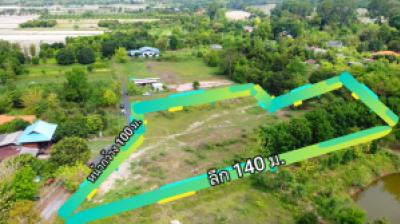 For SaleLandNakhon Nayok : Natural way 🌱🐃 near Bangkok 🌆 Nakhon Nayok land for sale ✨4-2-8.9 rai, Sarika Subdistrict, Mueang District, surrounded by mountains, fields
