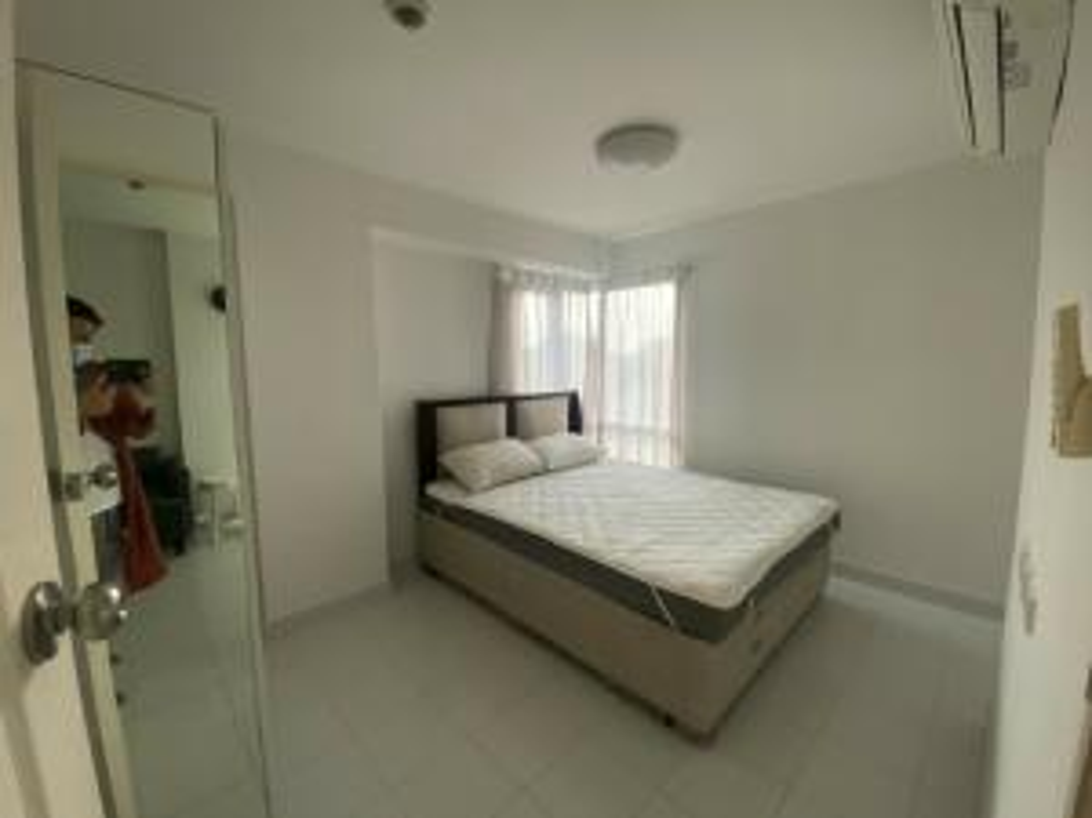 For SaleCondoRamkhamhaeng Nida, Seri Thai : Sell Incio Sereethai10 project, quick sale, new rooms, including furniture.