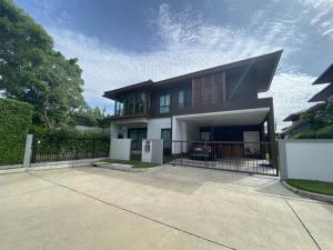For SaleHousePattanakan, Srinakarin : Sale Single house Burasiri by Sansiri Pattanakarn