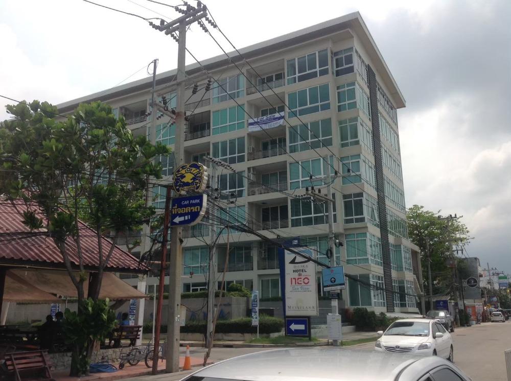 เช่าคอนโดพัทยา บางแสน ชลบุรี : นีโอ ซีวิว ริมหาดจอมเทียน NEO Seaview ติดร้านอาหารปูเป็นNeo Seaview Condominium Jomthien Pattaya seabeach