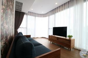 เช่าคอนโดสยาม จุฬา สามย่าน : For Rent, 2 Bedrooms 66 sqm. Ashton Chula-Silom with amazing view & Decoration!!