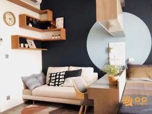 For RentCondoKasetsart, Ratchayothin : For Rent Miti Chiva Kaset Station  Studio, size 28 sq.m., Beautiful room, fully furnished.