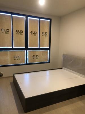 For SaleCondoOnnut, Udomsuk : 🎯คอนโด Elio Dal nest อุดมสุข 🚝 ฟรีเฟอร์ ฟรีโอน 🛋พร้อมอยู่ 🧨2.99 ลบ.🧨 นัดชมห้องโทร.080-5648542
