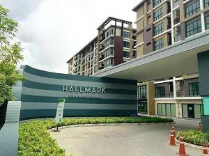 For SaleCondoChengwatana, Muangthong : Hallmark apartment, Ngamwongwan 1, 1 water, fully furnished, near Tiwanon MRT station