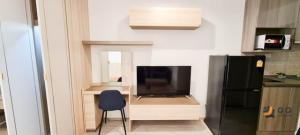 For RentCondoBang Sue, Wong Sawang : For Rent Ideo Mobi Bangsue Grand Interchange  Studio, size 25 sq.m., Beautiful room, fully furnished.
