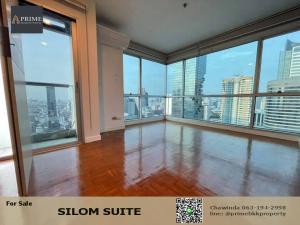 ขายคอนโดสีลม ศาลาแดง บางรัก : ขายถูก คอนโดสีลมสวีท Silom Suite   1 ห้องนอน ห้องมุม ชัั้นสูง วิวสวย 50ตรม