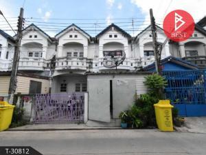 For SaleTownhouseSamrong, Samut Prakan : Townhouse for sale Thepharak Village 4 Bang Bo - Samut Prakan.