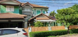 For SaleHouseNawamin, Ramindra : Owner Post 2-storey detached house, a lot of space, 81 square wa (3 bedrooms, 3 bathrooms), Permsin Road, only 5.78 million baht.