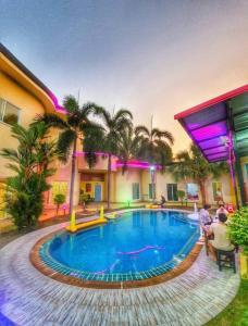For SaleHousePattaya, Bangsaen, Chonburi : House for sale in pool villa. Pattaya Fancy House Project, Nong Prue Subdistrict, Bang Lamung District, Chonburi Province