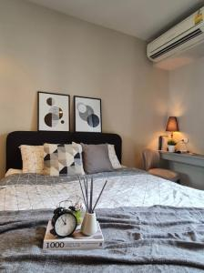 For RentCondoSapankwai,Jatujak : For rent: The Editor Saphan Khwai (The Editor Saphan Khwai) corner room, city view, built-in, beautiful modern classic style.